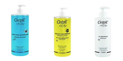 Cirepil Waxing Care lotions