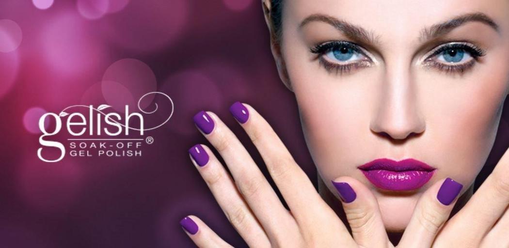 Gelish Gel Nails manicure images