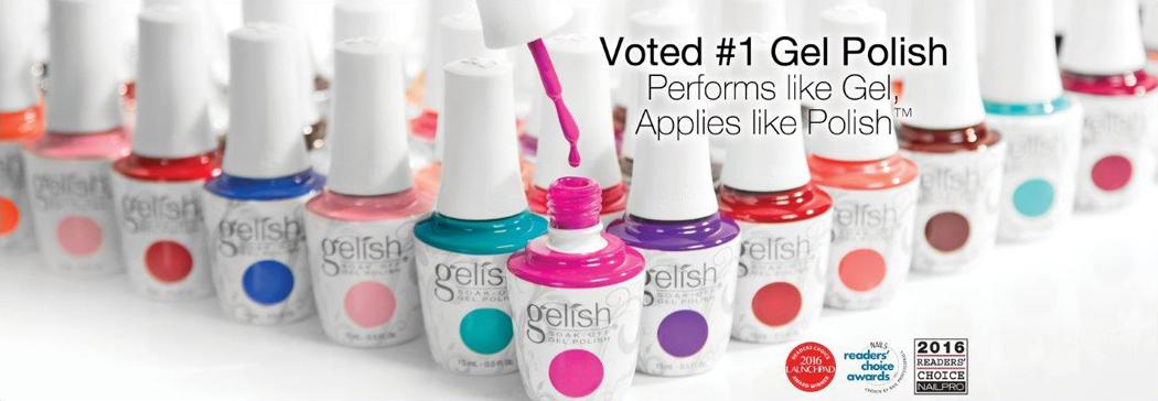 Gelish Gel voted best Gel product of 2017/2018